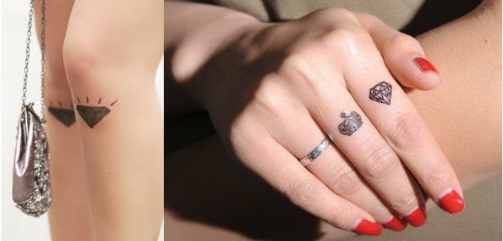 Tatuagens de... Unpolished Diamond