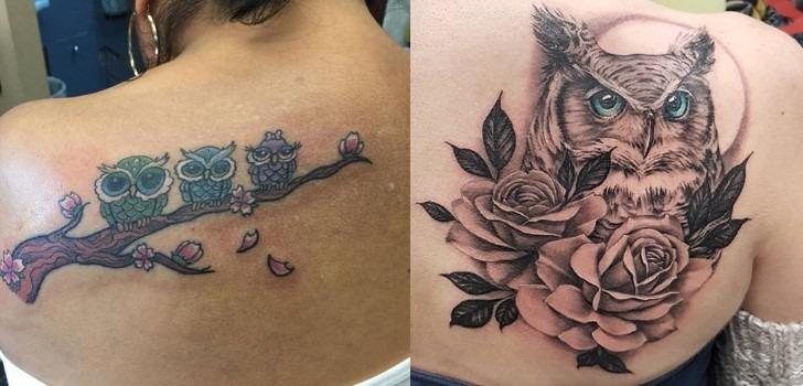 tatuagens-de-coruja